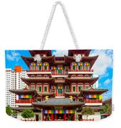 Buddhist Temple In Singapore Weekender Tote Bag