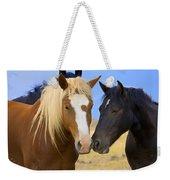 Buddies Wild Mustangs Weekender Tote Bag