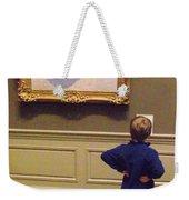 Budding Art Enthusiast Weekender Tote Bag