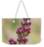 Budding Lilac 4 Weekender Tote Bag
