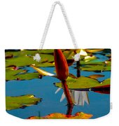 Budding Lilies Weekender Tote Bag