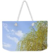 Budding Willow Weekender Tote Bag by Tom Gowanlock