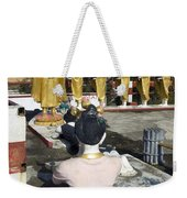 Buddist Shrine Weekender Tote Bag