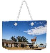 Budget Motel Weekender Tote Bag