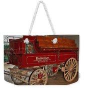 Budweiser Anheuser Busch Wagon Weekender Tote Bag