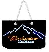 Budweiser In Colorado Weekender Tote Bag