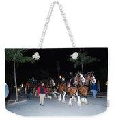 Budwiser Clidsdale Horses Weekender Tote Bag
