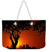 Buenos Aires At Sunset Weekender Tote Bag