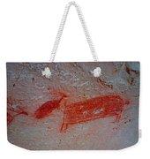 Buffalo And Elk Cave Painting Weekender Tote Bag