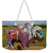 Buffalo Artwork Weekender Tote Bag