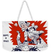 Buffalo Bills 1962 Program Weekender Tote Bag