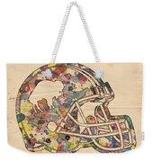 Buffalo Bills Vintage Art Weekender Tote Bag