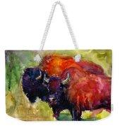 Buffalo Bisons Painting Weekender Tote Bag