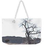 Buffalo Breath In The Winter Air Weekender Tote Bag