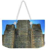 Buffalo City Hall Weekender Tote Bag by Tammy Wetzel