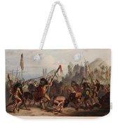 Buffalo Dance Of The Mandan Indians Weekender Tote Bag