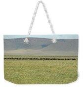 Buffalo Herd Weekender Tote Bag