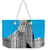 Buffalo New York Skyline 1 - Ice Blue Weekender Tote Bag