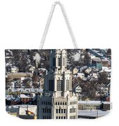 Buffalo Ny Electric Building Winter 2013 Weekender Tote Bag