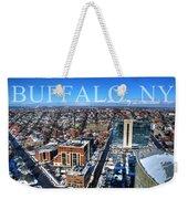 Buffalo Ny Winter 2013 Weekender Tote Bag