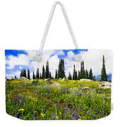 Buffalo Pass Colorado Wildflowers Weekender Tote Bag