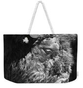 Buffalo Portrait Weekender Tote Bag