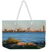 Buffalo Skyline From Fort Erie Weekender Tote Bag