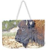 Buffalo Tongue Weekender Tote Bag