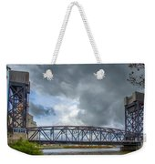 Buffalo's Ohio Street Bridge Weekender Tote Bag