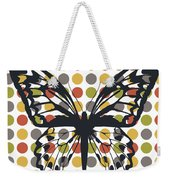 Bug In The Middle Weekender Tote Bag