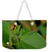 Bug On Leaf Weekender Tote Bag