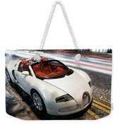 Bugatti Is Art In Motion  Weekender Tote Bag
