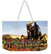 Bugs At Brookfield Zoo Signage Weekender Tote Bag