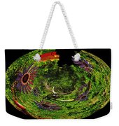 Bugs At The Zoo Daisies And Dragonfly Weekender Tote Bag