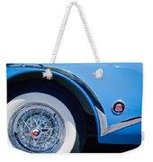 Buick Skylard Wheel Emblem Weekender Tote Bag