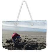 Building A Sand Castle  Weekender Tote Bag