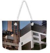 Tribute To Leger 3 - Building Blocks - Architecture Of New York City Weekender Tote Bag