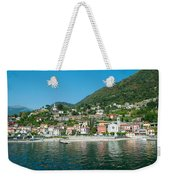 Building In A Town At The Waterfront Weekender Tote Bag