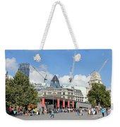 Building Work In The City Of London Weekender Tote Bag
