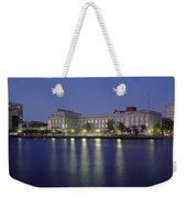 Buildings At The Waterfront, Cape Fear Weekender Tote Bag