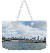 Buildings At The Waterfront, Thames Weekender Tote Bag