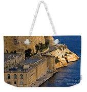 Buildings By The Mediterranean Sea Weekender Tote Bag