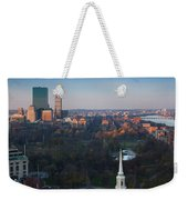 Buildings In A City, Boston Common Weekender Tote Bag