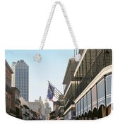 Buildings In A City, Four Points By Weekender Tote Bag