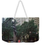 Buildings In A City, Trade And Tryon Weekender Tote Bag
