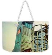 Buildings In Shanghai Weekender Tote Bag