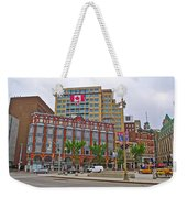 Buildings Near War Memoriall In Ottawa-on Weekender Tote Bag