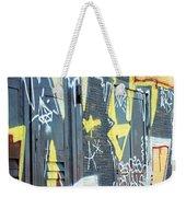 Bulgarian Graffiti Weekender Tote Bag