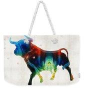 Bull Art - Love A Bull 2 - By Sharon Cummings Weekender Tote Bag
