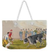 Bull Baiting Weekender Tote Bag